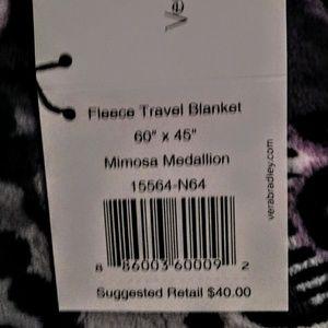 Vera Bradley Bedding - Vera Bradley Fleece Travel Blanket